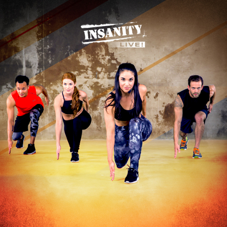 Insanity fitness classes in Bedfordshire